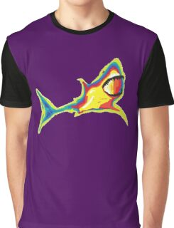 Heat Vision - Shark Graphic T-Shirt