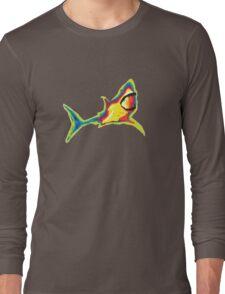 Heat Vision - Shark Long Sleeve T-Shirt