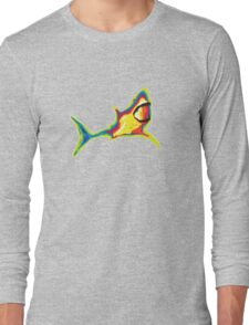 Heat Vision - Shark Long Sleeve T-Shirt
