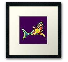 Heat Vision - Shark Framed Print