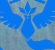 Pokemon Go - Team Mystic (arctic circle 1) Sticker