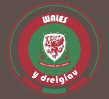 Euro 2016 Football - Team Wales One Piece - Short Sleeve