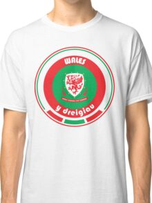 Euro 2016 Football - Team Wales Classic T-Shirt
