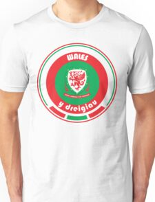 Euro 2016 Football - Team Wales Unisex T-Shirt