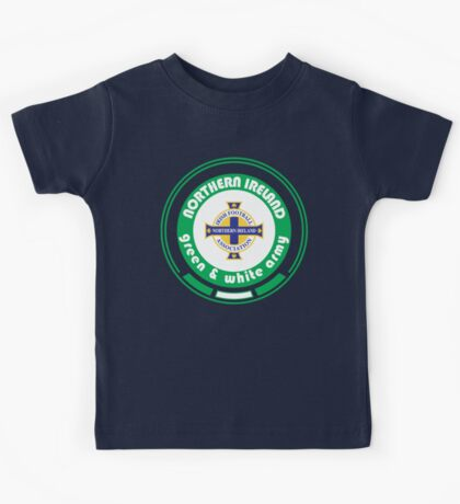 Euro 2016 Football - Team Northern Ireland Kids Tee
