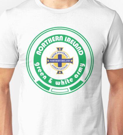 Euro 2016 Football - Team Northern Ireland Unisex T-Shirt
