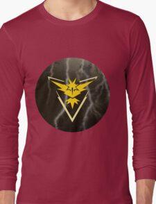 Pokemon Go - Team Instinct (lightning circle 1) Long Sleeve T-Shirt