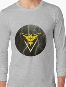 Pokemon Go - Team Instinct (lightning circle 1) Long Sleeve T-Shirt