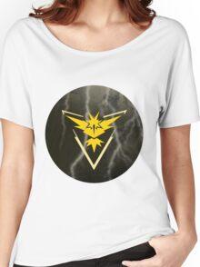 Pokemon Go - Team Instinct (lightning circle 1) Women's Relaxed Fit T-Shirt