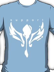 League of Legends support design white  T-Shirt