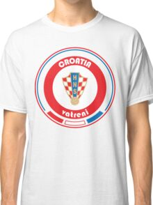 Euro 2016 Football - Team Croatia Classic T-Shirt