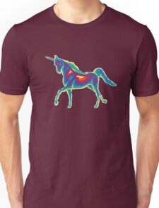 Heat Vision - Unicorn Unisex T-Shirt