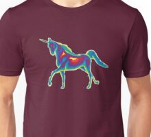 Heat Vision - Unicorn Unisex T-Shirt