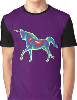 Heat Vision - Unicorn Graphic T-Shirt