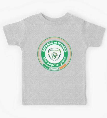 Euro 2016 Football - Team Republic of Ireland Kids Tee