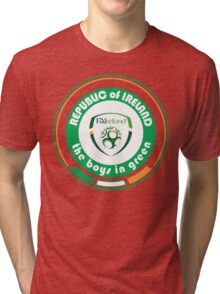 Euro 2016 Football - Team Republic of Ireland Tri-blend T-Shirt