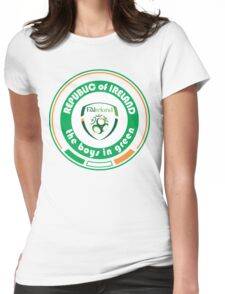 Euro 2016 Football - Team Republic of Ireland Womens Fitted T-Shirt