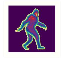Heat Vision - Bigfoot Art Print