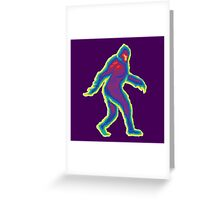 Heat Vision - Bigfoot Greeting Card
