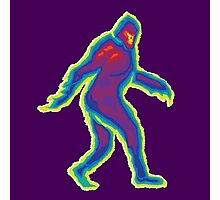 Heat Vision - Bigfoot Photographic Print