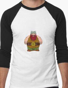 Wikinger - viking olaf Men's Baseball ¾ T-Shirt