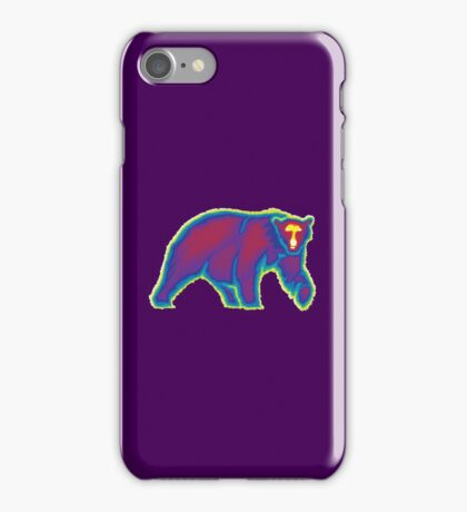 Heat Vision - Polar Bear iPhone Case/Skin