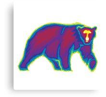 Heat Vision - Polar Bear Canvas Print
