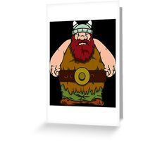 big wik - wikinger - viking olaf Greeting Card