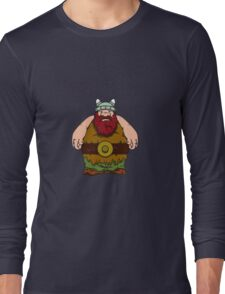 big wik - wikinger - viking olaf Long Sleeve T-Shirt