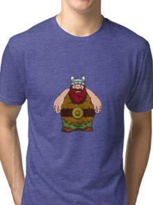 big wik - wikinger - viking olaf Tri-blend T-Shirt