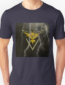 Pokemon Go - Team Instinct (lightning square) Unisex T-Shirt