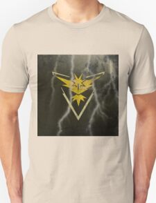 Pokemon Go - Team Instinct (lightning square) Unisex T-Shirt