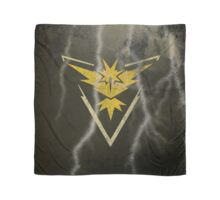 Pokemon Go - Team Instinct (lightning square) Scarf