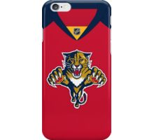 Florida Panthers 2011-16 Home Jersey iPhone Case/Skin