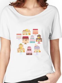 Sweet Cakes Women's Relaxed Fit T-Shirt