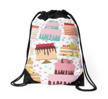 Sweet Cakes Drawstring Bag