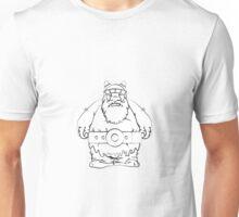Wikinger, viking, olaf, bart, beard, danger, bellt, gürtel, cap, hat, grim, grimly, big,  fat, strong, helm, helmet, nordisch, north, horn Unisex T-Shirt