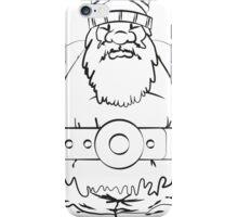 Wikinger, viking, olaf, bart, beard, danger, bellt, gürtel, cap, hat, grim, grimly, big,  fat, strong, helm, helmet, nordisch, north, horn iPhone Case/Skin