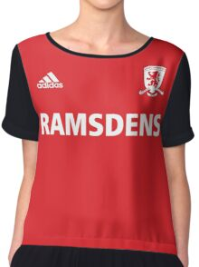welcome middlesbrough Chiffon Top