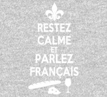Keep Calm and Speak French One Piece - Long Sleeve