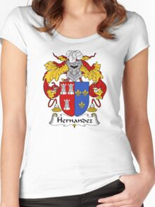 Hernandez Coat of Arms/Family Crest Women's Fitted Scoop T-Shirt