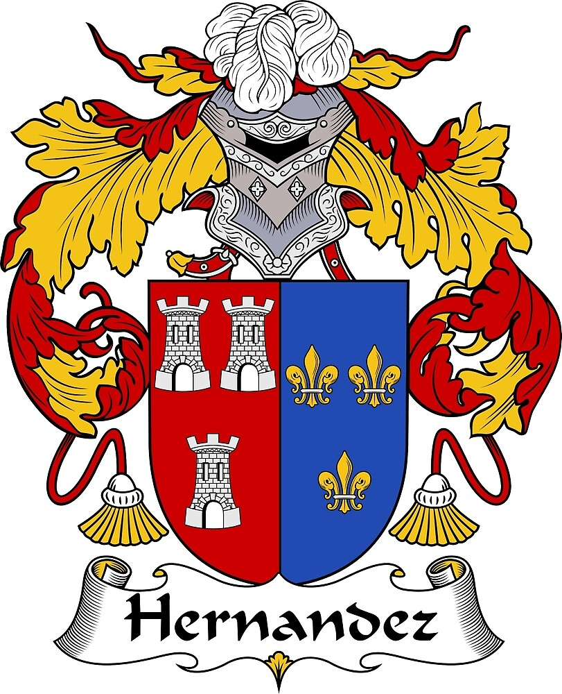 Hernandez Coat Arms Crest William Martin