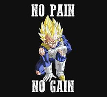 No Pain No Gain (Vegeta) - Dragonball Z Tank Top
