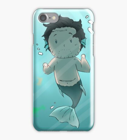 Tiny MerWill Sees You iPhone Case/Skin