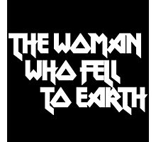 THE WOMAN WHO FELL TO EARTH Photographic Print