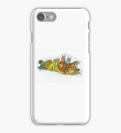 Find Your Pride! - Feline Family iPhone Case/Skin