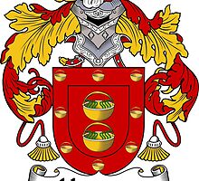 Herrera Coat of Arms/Family Crest by William Martin