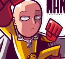 <ONE PUNCH MAN> Saitama Cartoon Style Sticker