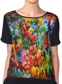 modern composition 09 by rafi talby Chiffon Top