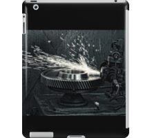 Sparks b/w iPad Case/Skin